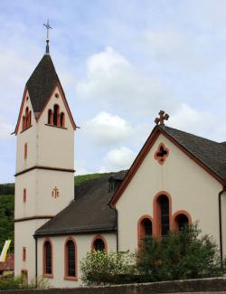 Mettlach-Saarhölzbach,  Pfarrkirche St. Antonius Abt