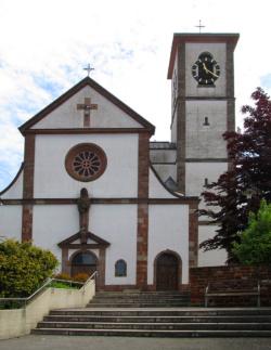 Losheim am See, Pfarrkirche St. Peter und Paul