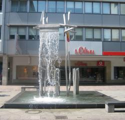 Saarbrücken, Schad, Brunnen