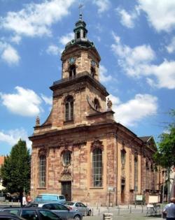 Saarbrücken, Mitte, St. Johann  Basilika St. Johann