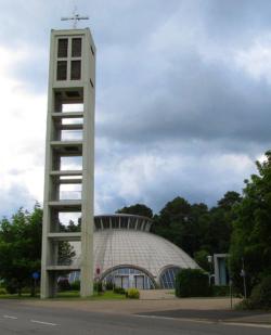 Homburg, Homburg-Stadt,   Pfarrkirche St. Fronleichnam