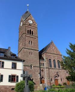Rehlingen-Siersburg, Fremersdorf,  Pfarrkirche St. Mauritius und St. Barbara