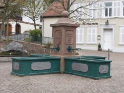 Beckingen, Britz, Brunnen