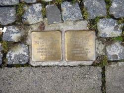 Saarbrücken, Demnig, Stolperstein, Fürst, Herbert und Olga