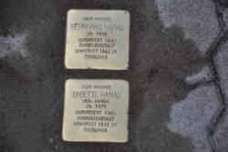 Losheim, Demnig, Stolperstein, Hanau, Bernhard und Babette