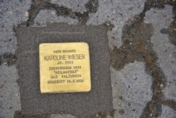 Rehlingen-Siersburg, Demnig, Stolperstein, Wiesen, Karoline