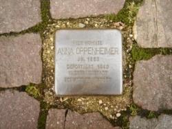 Blieskastel, Demnig, Stolperstein, Oppenheimer, Anna