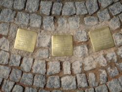 Saarbrücken, Demnig, Stolperstein, Dobisch, Fritz; Roth, Peter; Schorr, Wendel
