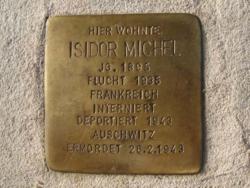 Rehlingen-Siersburg, Demnig, Stolperstein, Michel, Isidor