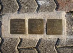Rehlingen-Siersburg, Demnig, Stolperstein, Michel, Sigmund, Rosa und Ruth