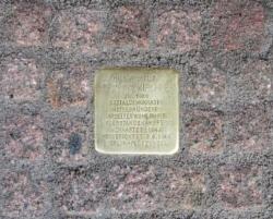 Saarbrücken, Demnig, Stolperstein, Kirchner, Johanna