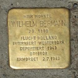Völklingen, Demnig, Stolperstein, Bermann, Wilhelm