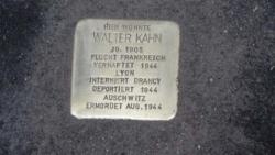 St. Wendel, Demnig, Stolperstein, Kahn, Walter