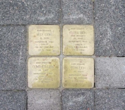 Nohfelden, Demnig, Stolperstein, Lion, Max, Flora, Günther und Egon