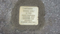 St. Wendel, Demnig, Stolperstein, Lanz, Israel