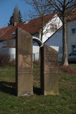 Oberthal, Dewes, Partnerschaftsstein