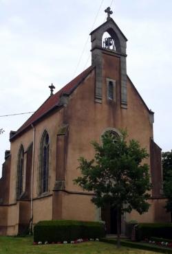Wallerfangen-Düren, Filialkirche / Schlosskapelle Unsere Liebe Frau von Lourdes