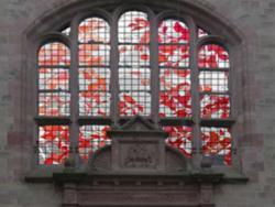 Saarlouis (Innenstadt), Schultz, Glasfenster