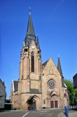 Spiesen-Elversberg, Pfarrkirche Herz-Jesu