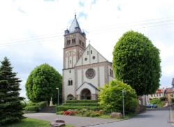 Quierschied, Fischbach-Camphausen, Pfarrkirche St. Josef