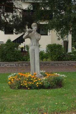Freisen-Oberkirchen, Glöckner, Skulptur
