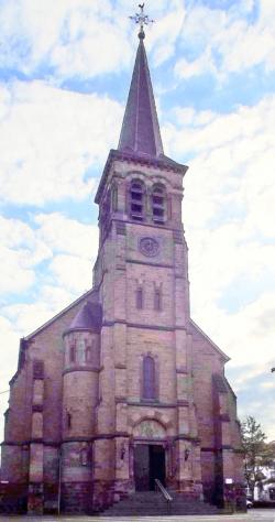 Großrosseln, Pfarrkirche St. Wendalinus