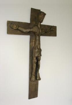 Wallerfangen (Gisingen), Katholische Pfarrkirche St. Andreas, Kruzifix