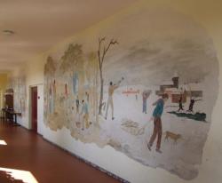 Losheim-Wahlen, Wandgestaltung