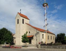 Gersheim-Niedergailbach, Pfarrkirche St. Nikolaus von Flühe bzw. Bruder-Klaus-Kirche