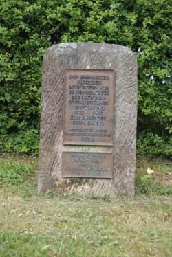 St. Wendel-Urweiler, Noster, Mahnmal
