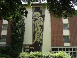 St. Wendel, Probst, Wandgestaltung