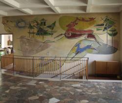 Losheim-Bachem, Ritzert, Wandgestaltung
