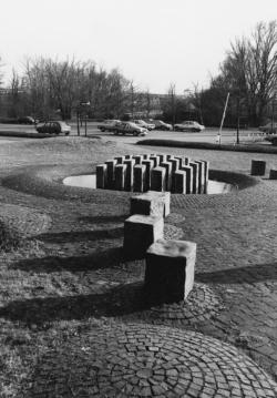 Saarlouis, Schneider, Brunnen und Platzgestaltung