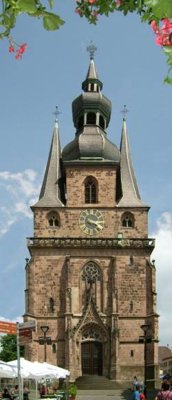 St. Wendel,  Katholische Pfarr- und Wallfahrtskirche St. Wendelinus (Basilika)