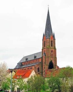 Illingen-Uchtelfangen, Pfarrkirche St. Josef