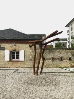 Deux Villes –Zwei Städte.Metz und Saarlouisim Dialog. Skulpturen vonRobert Schad