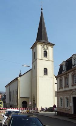 Wadern, Pfarrkirche Allerheiligen