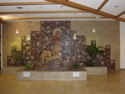 St. Wendel, Willeke, Wandgestaltung