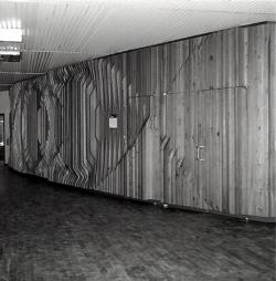 Saarbrücken, Huschens, Wandgestaltung